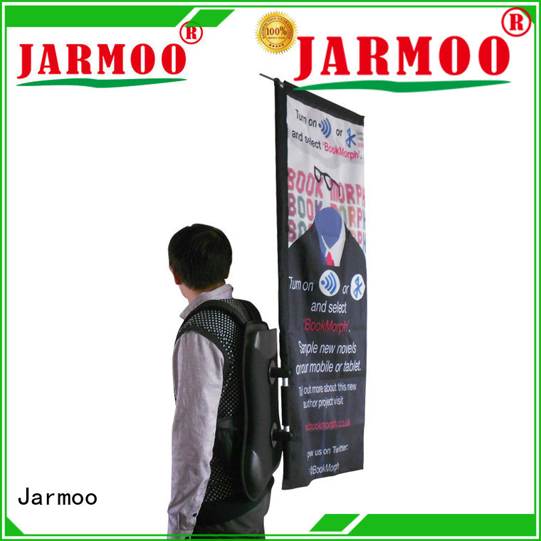 Jarmoo colorful outdoor wall flag supplier bulk production